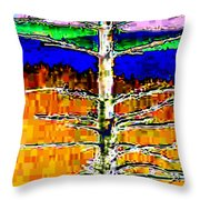Valley View 1 Throw Pillow