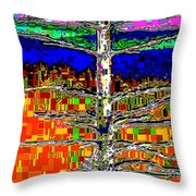 Valley View 2 Throw Pillow