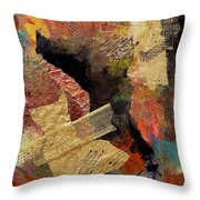 Valley Whispers Throw Pillow