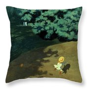 Valloton: Balloon, 1899 Throw Pillow