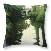Valrose Campus Throw Pillow
