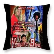 Vampire Blvd.  Throw Pillow