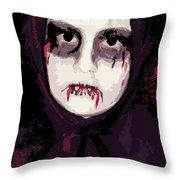 Vampire II Throw Pillow