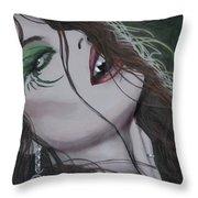 Vampiress II Throw Pillow