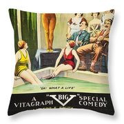 Vamps And Variety 1919 Throw Pillow