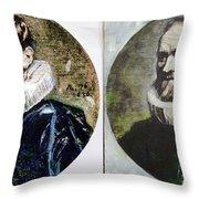 Van Dyck Nicholas Rockox Throw Pillow