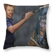 Van Gogh 2018 Throw Pillow