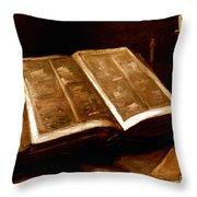 Van Gogh: Bible, 1885 Throw Pillow