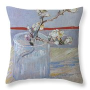 Van Gogh: Branch, 1888 Throw Pillow