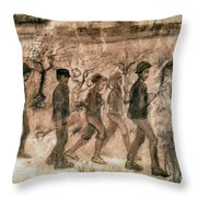 Van Gogh: Children, 1880 Throw Pillow