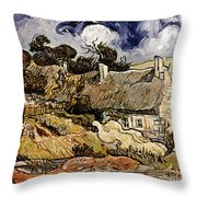 Van Gogh: Cordeville, 1890 Throw Pillow