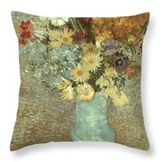 Van Gogh: Flowers, 1887 Throw Pillow