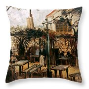 Van Gogh: Guingette, 1886 Throw Pillow