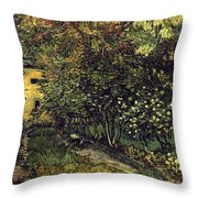 Van Gogh: Hospital, 1889 Throw Pillow