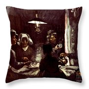 Van Gogh: Meal, 1885 Throw Pillow
