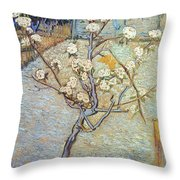 Van Gogh: Peartree, 1888 Throw Pillow