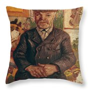 Van Gogh: Pere Tanguy, 1887 Throw Pillow