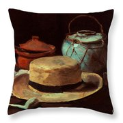 Van Gogh: Still Life, 1885 Throw Pillow