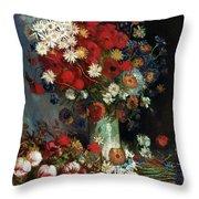 Van Gogh Still Life 1886 Throw Pillow