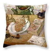 Van Gogh: Still Life, 1889 Throw Pillow