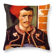 Van Gogh: The Zouave, 1888 Throw Pillow