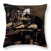 Van Gogh: Weaver, 1884 Throw Pillow