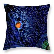 Van Gogh's Clam Throw Pillow