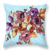 Van Gogh's Garden Throw Pillow