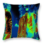 Erupting In Spokane In 1978 Throw Pillow