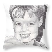 Van Winkle Boy Throw Pillow