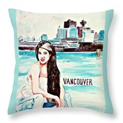 Vancouver 2009 Throw Pillow