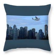 Vancouver 3 Throw Pillow