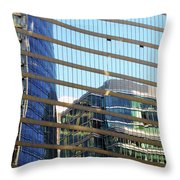 Vancouver 9 Throw Pillow