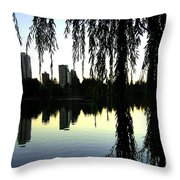 Vancouver- Lost Lagoon Throw Pillow