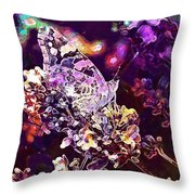 Vanessa Cardui Painted Lady  Throw Pillow