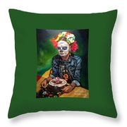 Vanessa's Birthday Throw Pillow