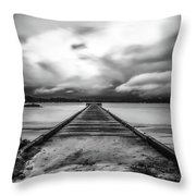 Vanished Throw Pillow