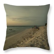 Varadero Ocean  Throw Pillow