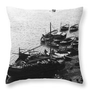 Varanasi Throw Pillow