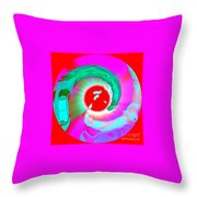 Variation On A Swirl Throw Pillow