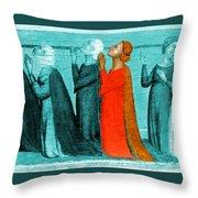 Variation On An Alterpiece Throw Pillow