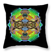 Variations #3 Throw Pillow