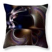 Variations On Varese Throw Pillow