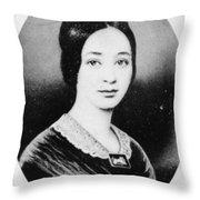 Varina Howell Davis (1826-1906) Throw Pillow