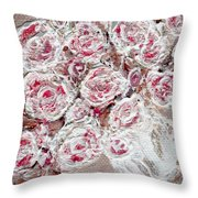 Vase Of Hope Original Is Sold Throw Pillow