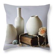 Vases Throw Pillow
