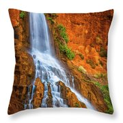 Vaseys Paradise Throw Pillow