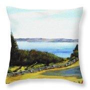 Vashon Island Throw Pillow