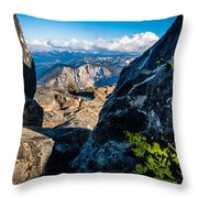 Vastly Majestic High Sierras Throw Pillow