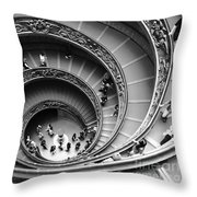 Vatican Bw Throw Pillow